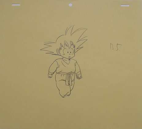 Dragon Ball, Sangoku on top of the Karin Tower (B5 correction sheet) (1986-1989)