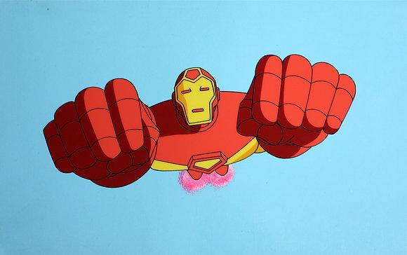 Iron Man   Original animation celluloid (1994-1996)