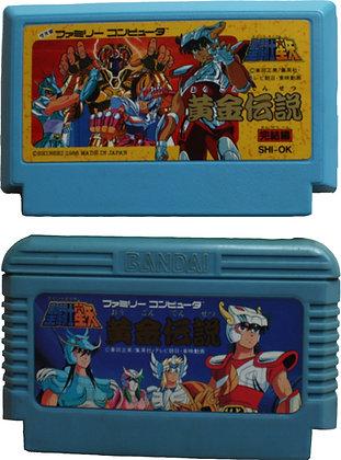 Nintendo Famicom Saint Seiya: Ogon Densetsu Kanketsu Hen (1987) and Saint...