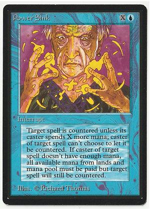 Magic: The Gathering, Power Sink, Beta, Near Mint (1993)
