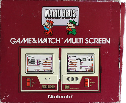 Nintendo Game & Watch Multi Screen Mario Bros (MW-56) (1983)