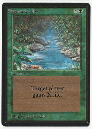 Magic: The Gathering, Stream of Life, Beta, Near Mint (1993)