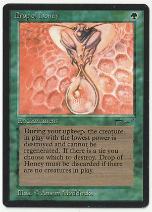 Magic: The Gathering, Drop of Honey, Arabian Nights, Near Mint (1993)
