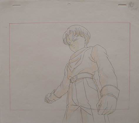 Dragon Ball GT, Trunks, his right arm pointing to the right (B1) (1996-1997)