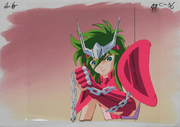 Saint Seiya, Shun, Bronze Saint of the Andromeda (close-up) (1986-1989)