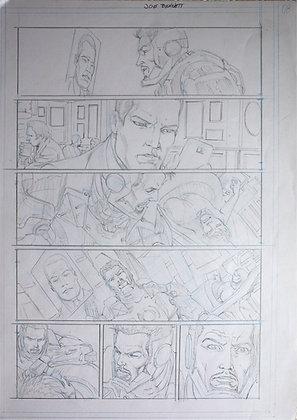 Iron Man | Original comics page 5-21-? (2014)