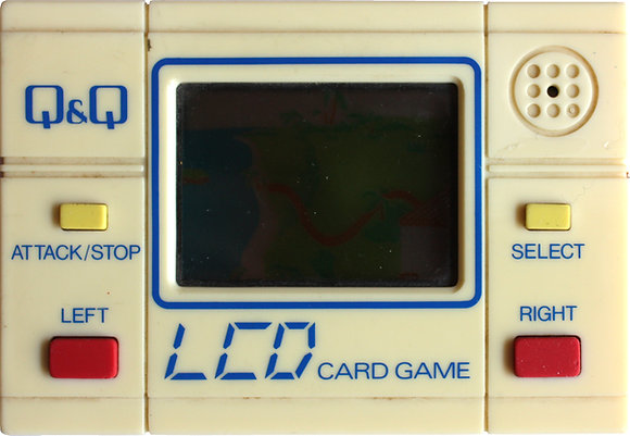 Q&Q LCD Card Game Treasure Island (CG-4) (1984)