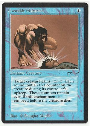 Magic: The Gathering, Unstable Mutation, Arabian Nights, Near Mint (1993)