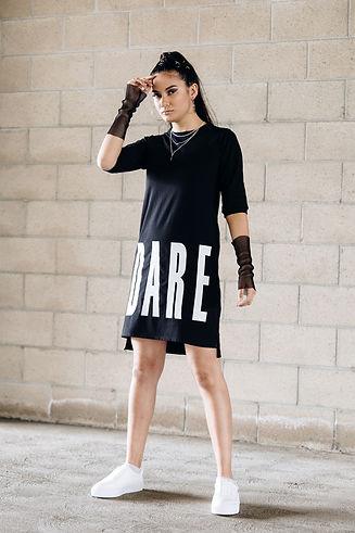 DARE t-shirt dress.jpg