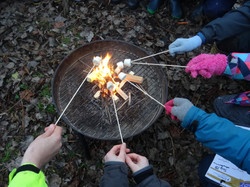 Outdoor cooking and creating recipes