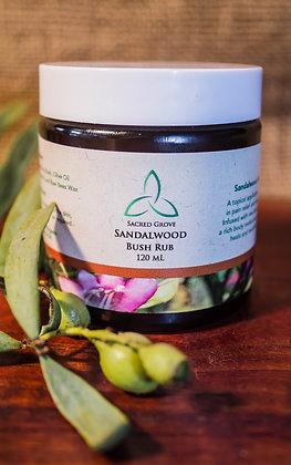 """""""Sandalwood"""" Rub 120 ml"""