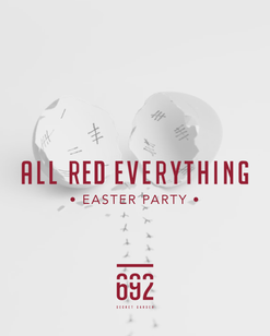 All Red Everything 2018 - Easter Party