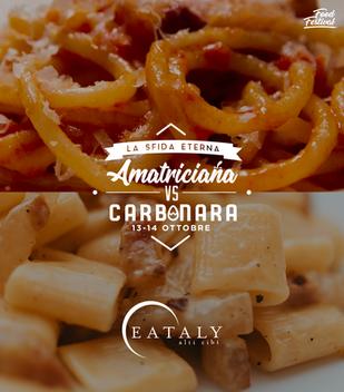 Amatriciana vs Carbonara Festival