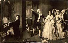 Beethoven en concert lors d'une soirée