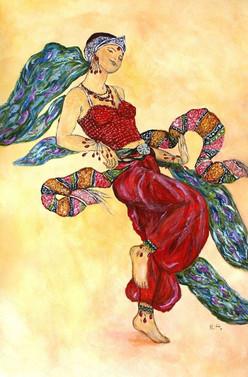 Shéhérazade costume danseuse