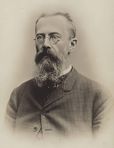 Rimski-Korsako portrait
