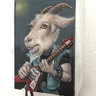 Metal Goat (Terry, Patron Saint of 80's Metal Returns)