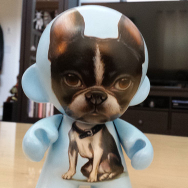 Boston Terrier Munny