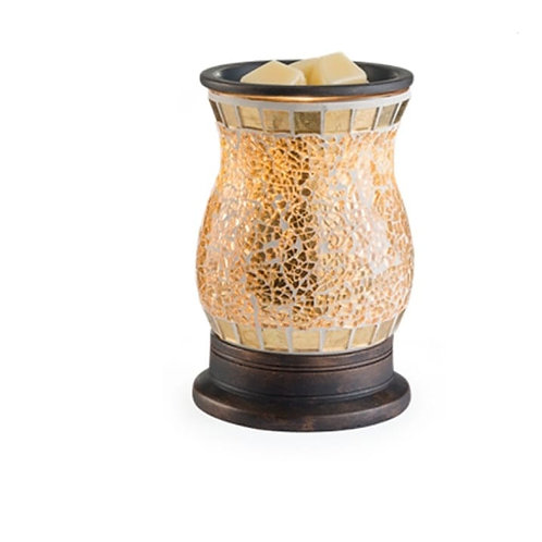Glass Mosaic Reflection Electric Warmer