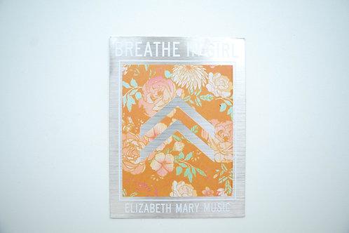 Breathe in Girl Sticker