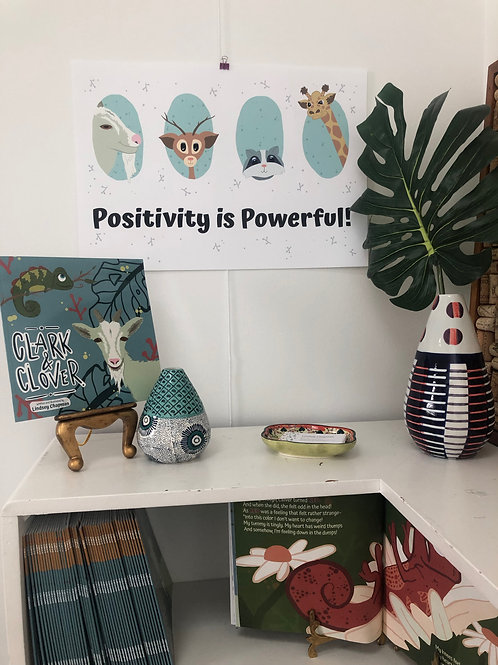 Positivity is Powerful Poster