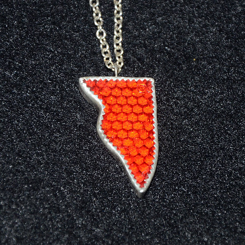 Red Reflector Pendant