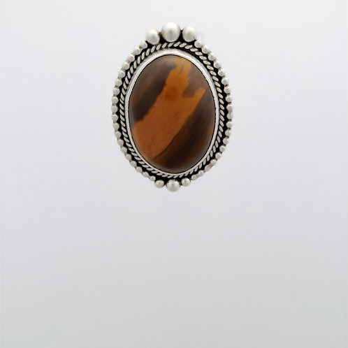 Brown Jasper Ring