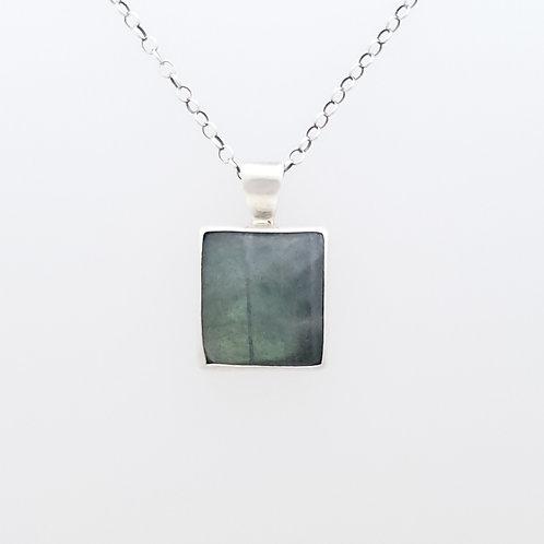 Square Labradorite Pendant