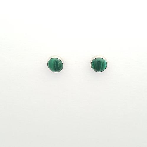 Malachite Post Earrings