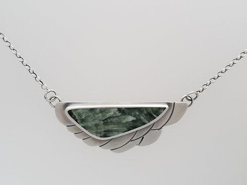 Seraphinite Wing Necklace