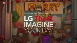 LG전자 인공지능 ThinQ 디지털 캠페인 - 일러스트편