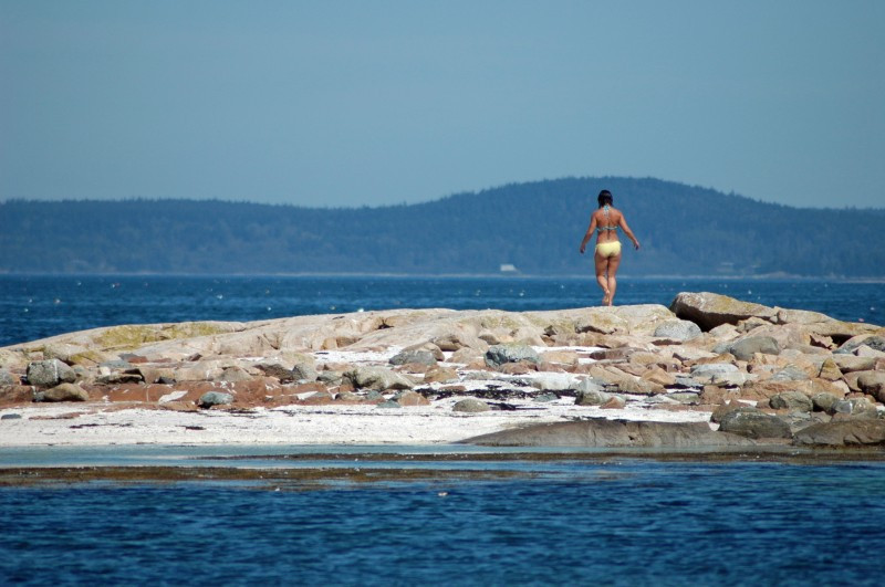 cool off, maine vacations, escape the heat