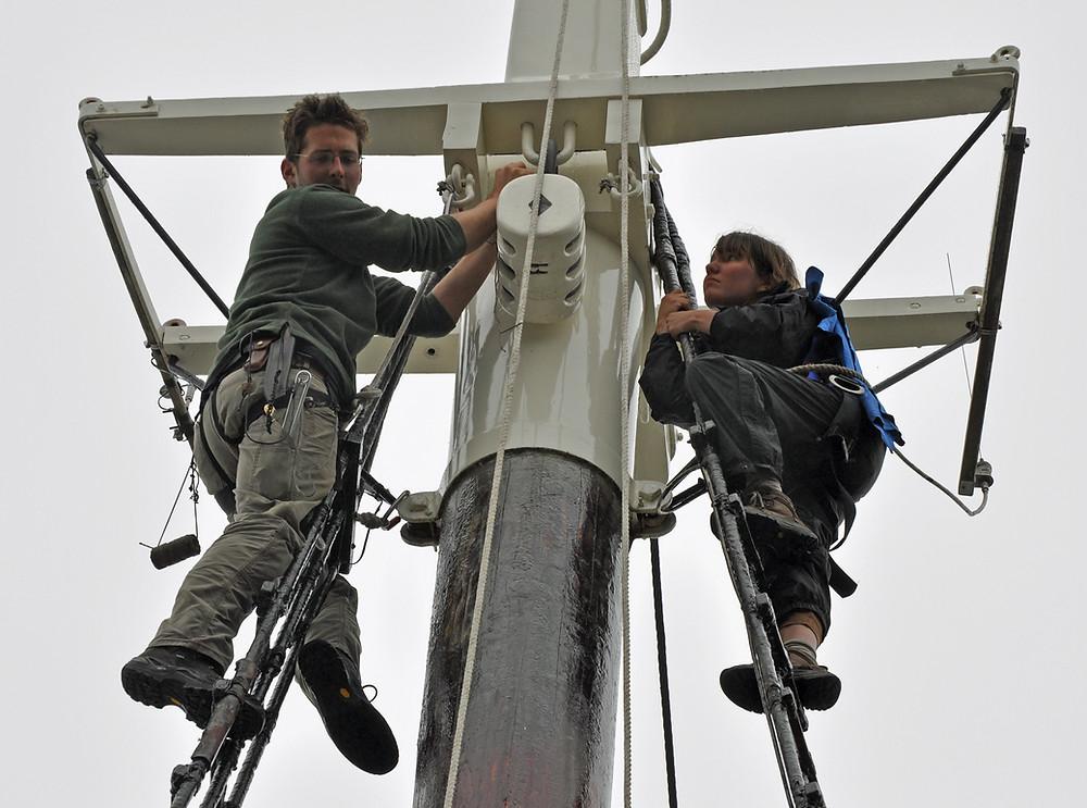 traditional sailing vessel sailing and seamanship aboard a Maine tall ship