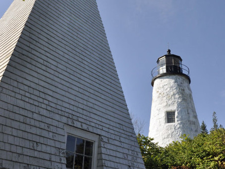 Lighthouses = Maine