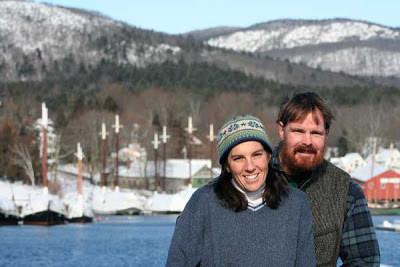 Winter in Camden Maine