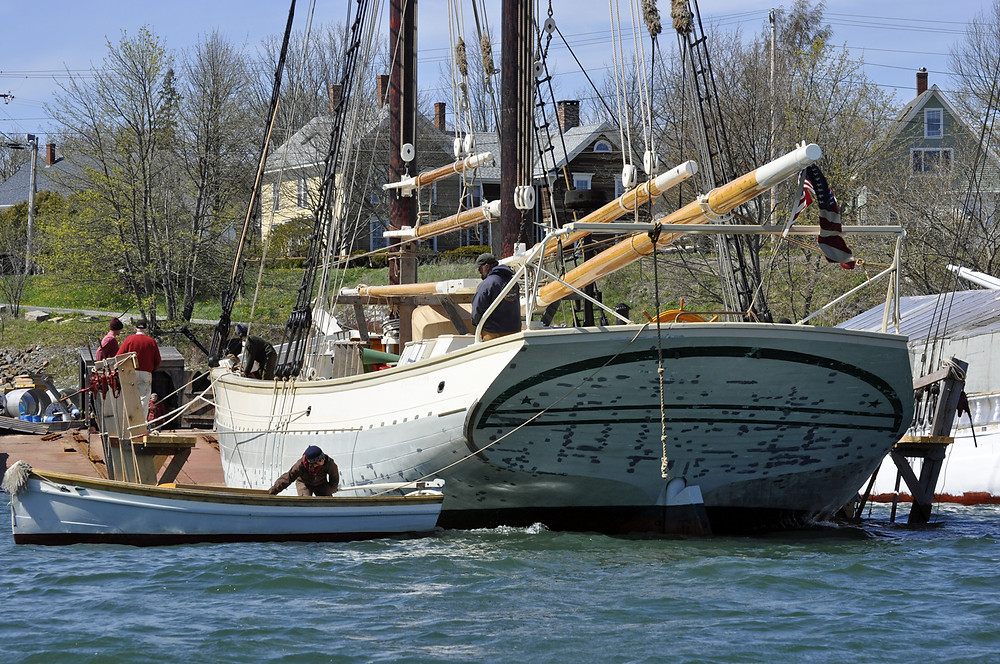 Maine windjammer cruises vacations Mary Day
