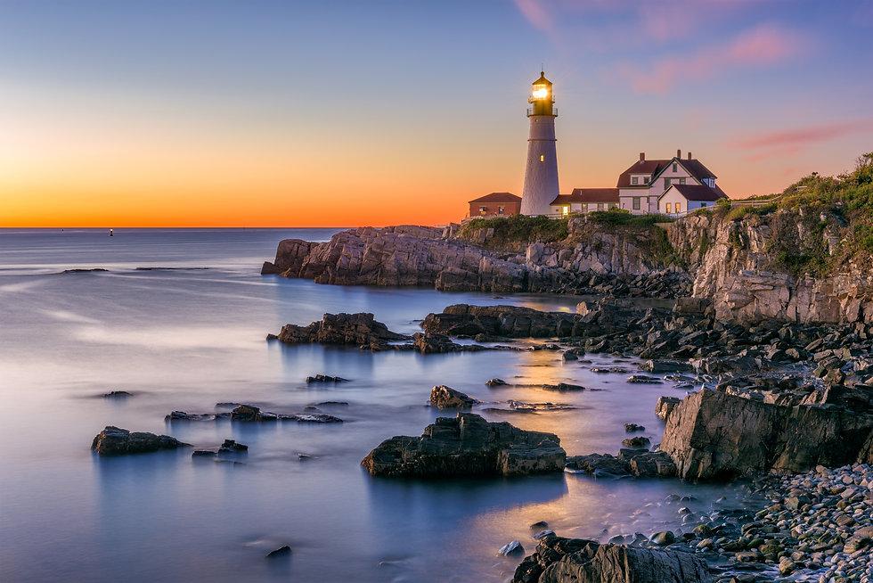 Portland, Maine, USA at Portland Head Li
