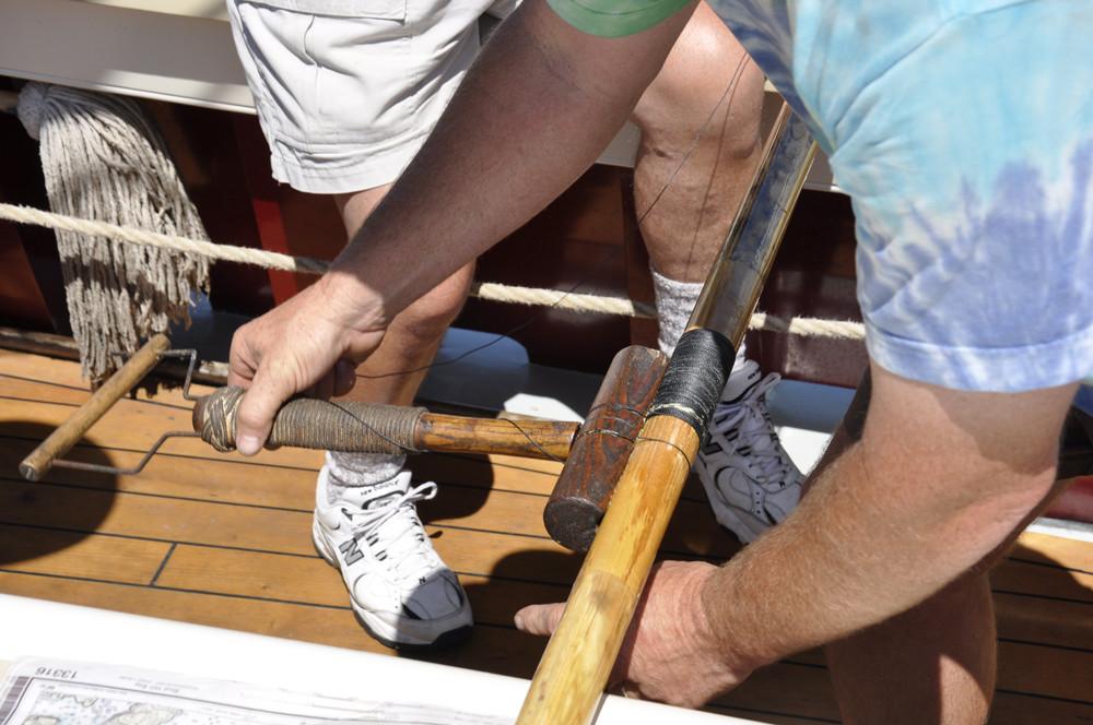 schooner vacations, underway repairs, maine windjammers
