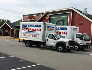 commercial power washing maine