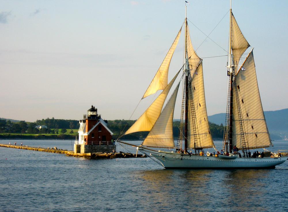 schooner Mary Day, maine windjammer, windjammer cruises in maine