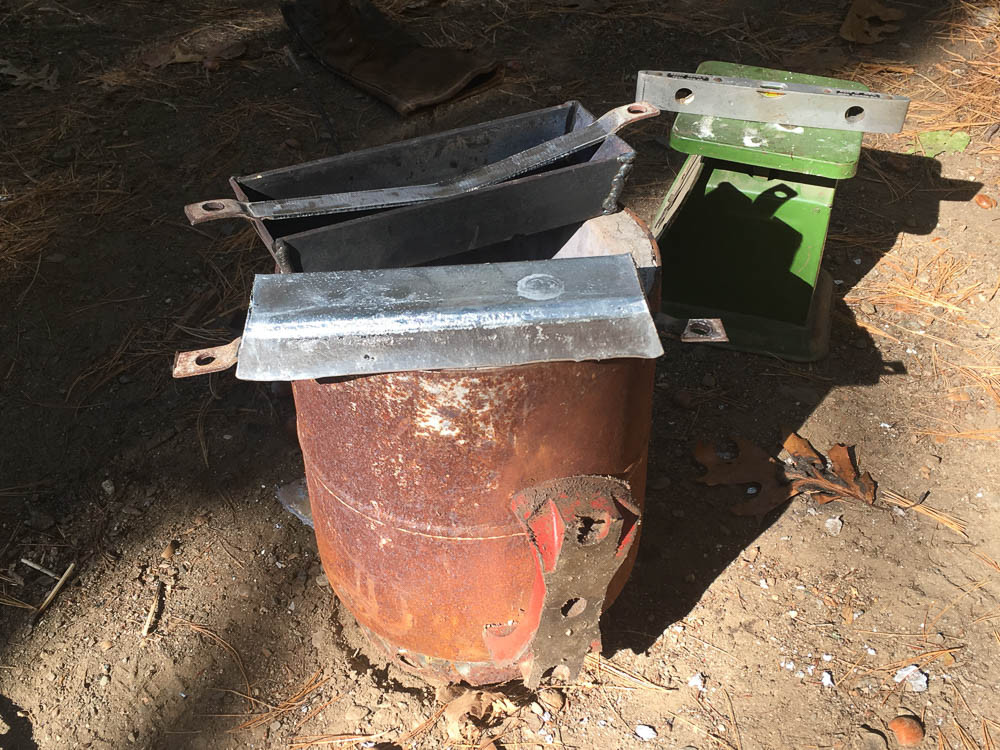 maine windjammer zinc mold