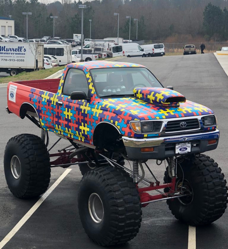 This truck puzzles me