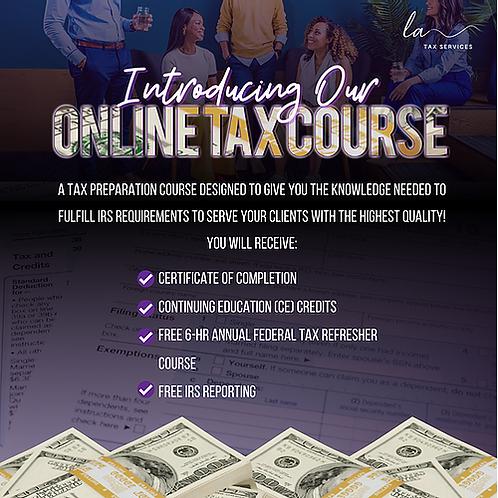 LA Tax Services Online Tax Course