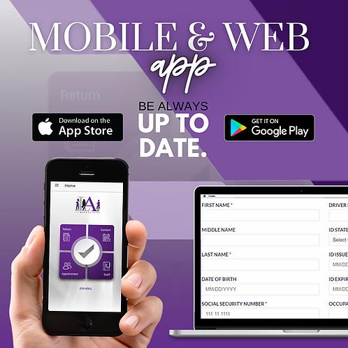 Mobile & Web App
