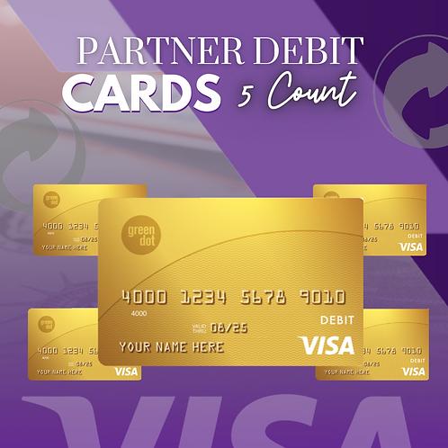 Partner Debit Cards