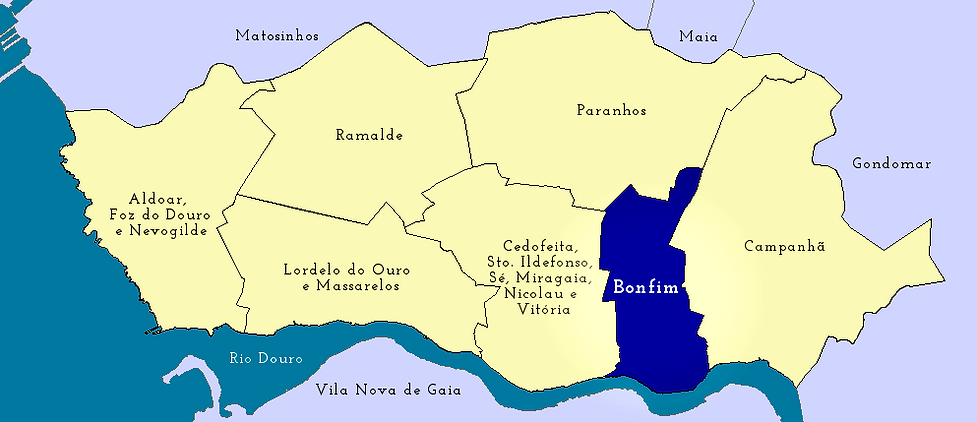 Mapa do Bonfim