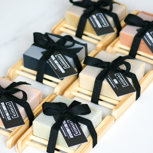 Soap and soap rack gift set