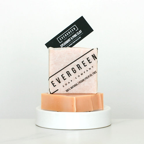 Spearmint & Pink Clay