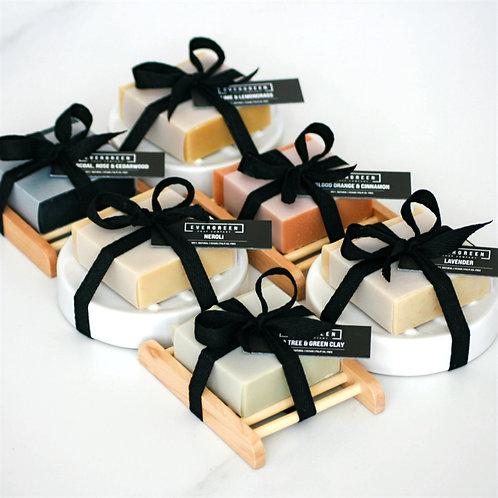 Single soap gift set