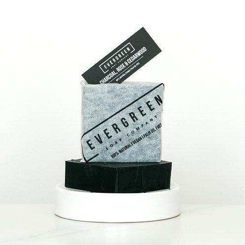 Charcoal, Rose & Cedarwood